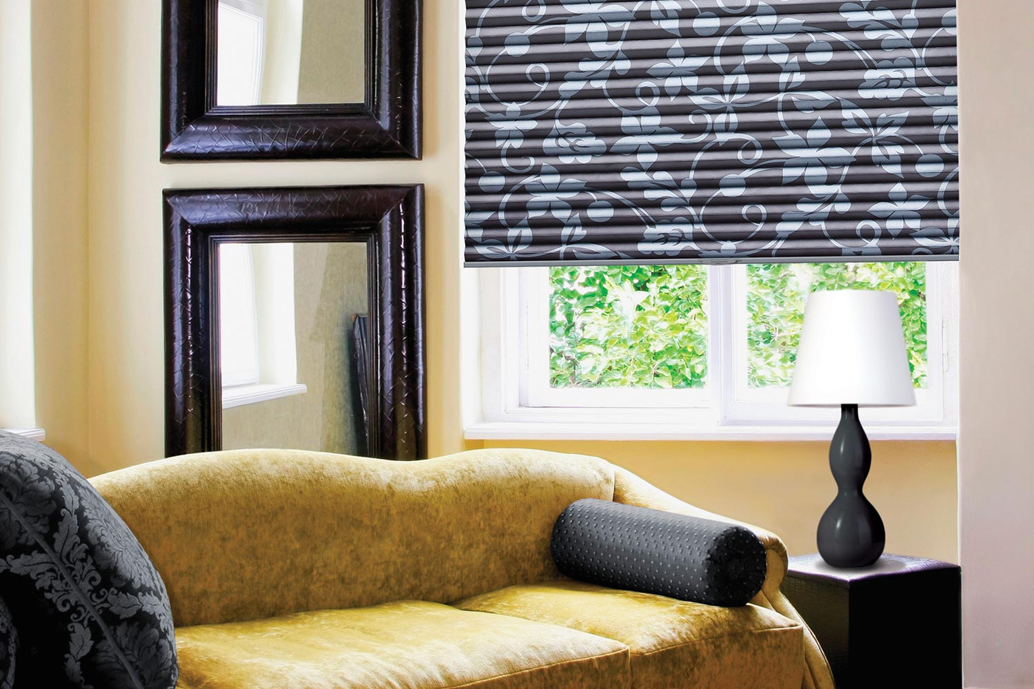 Pleated Shades Metro Blinds