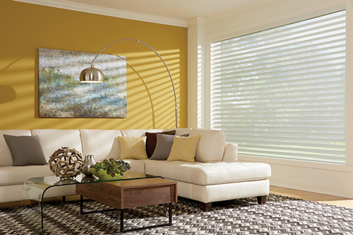 Sheer Shades Metro Blinds