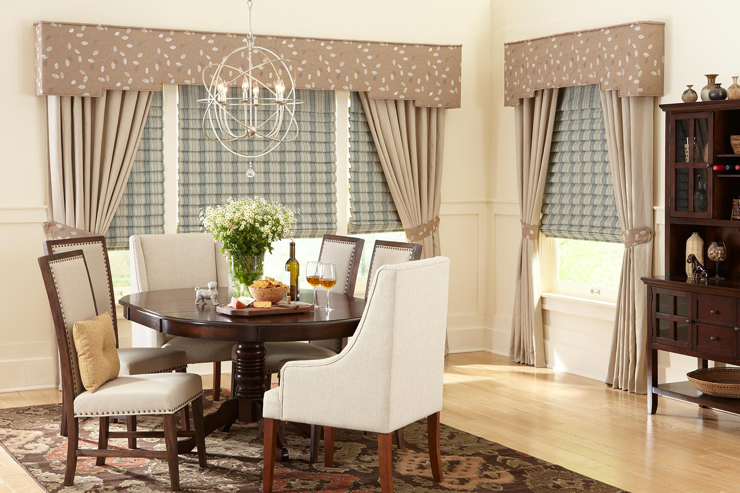 Image of: Valances Cornices Metro Blinds
