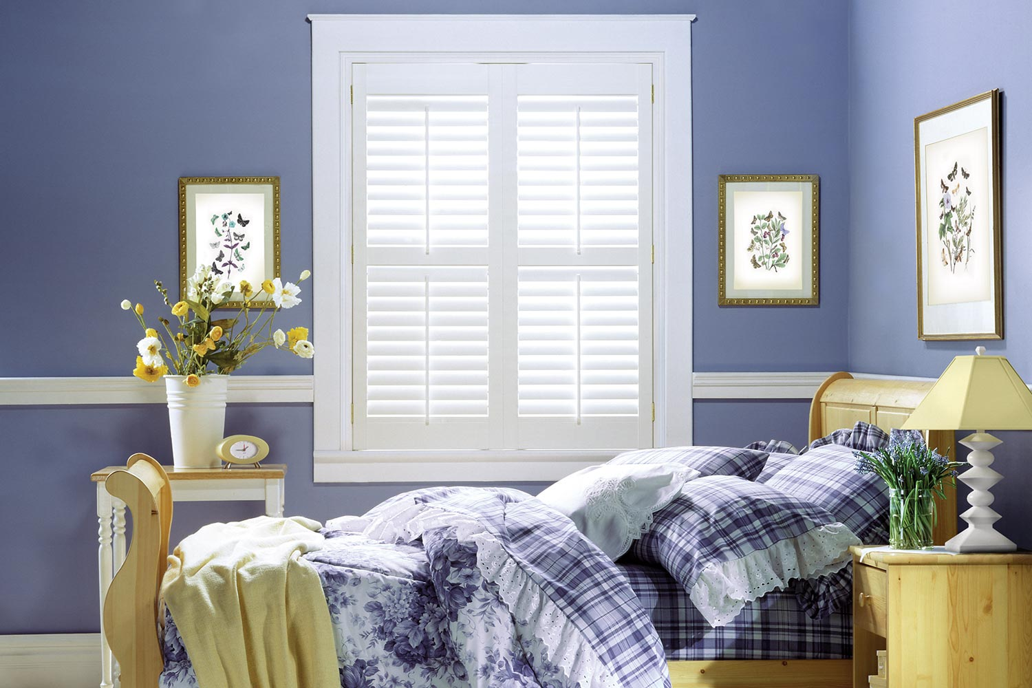 Vinyl Plantation Shutters Metro Blinds