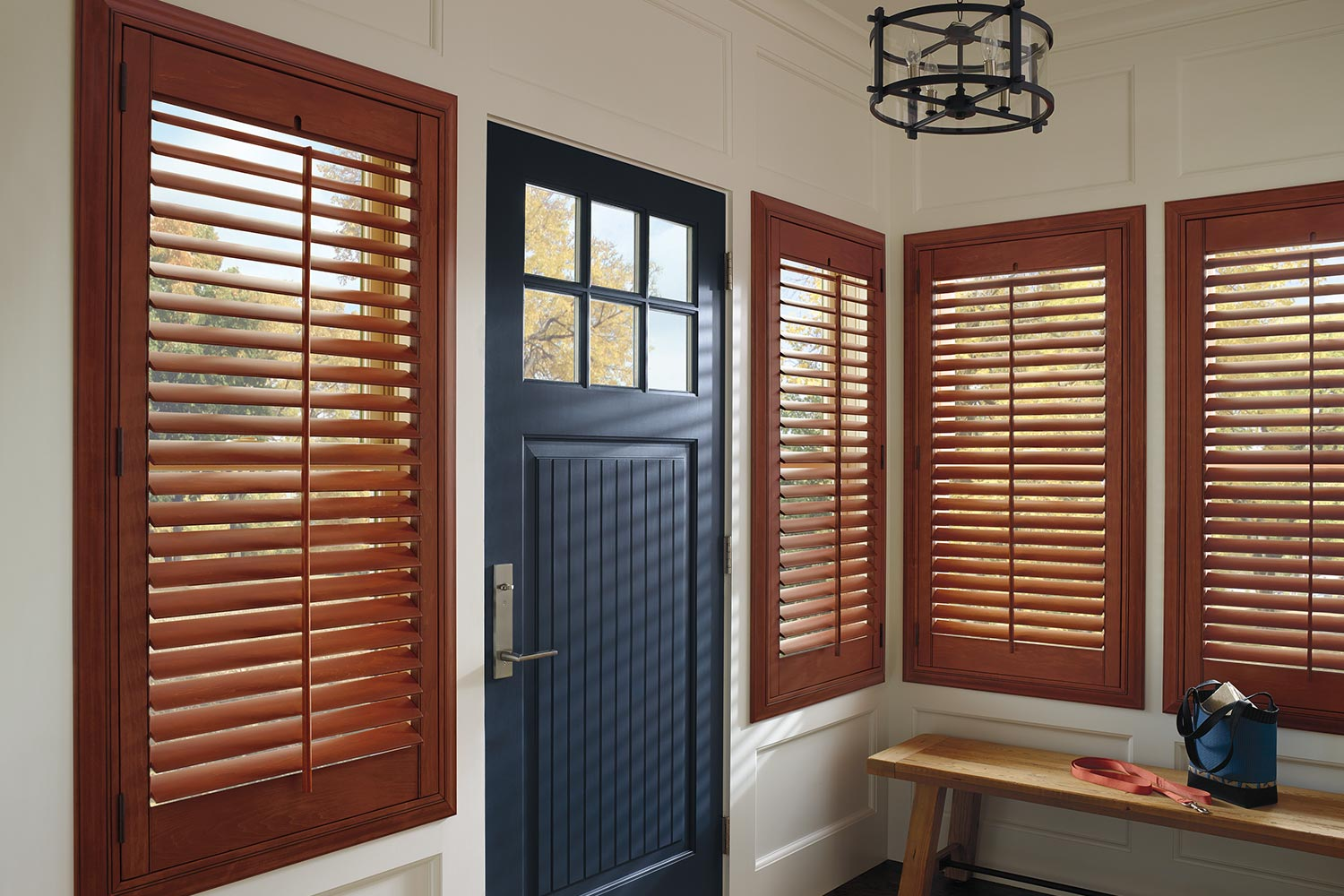 Wood Plantation Shutters Metro Blinds